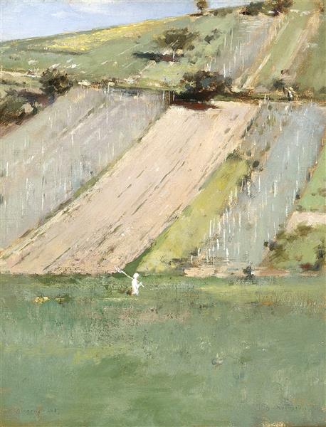Valley of the Seine, Giverny, 1887 - Theodore Robinson