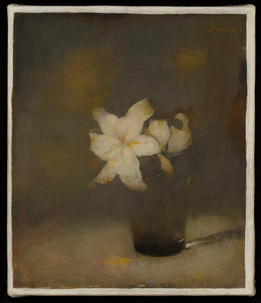 Glass with Lily, 1910 - Jan Mankes