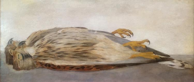 Two Dead Kestrels, 1909 - Jan Mankes