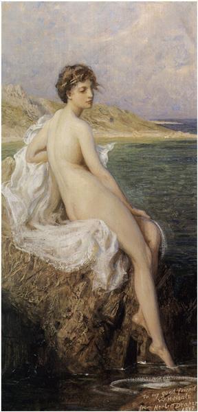 Bather, 1896 - Herbert James Draper