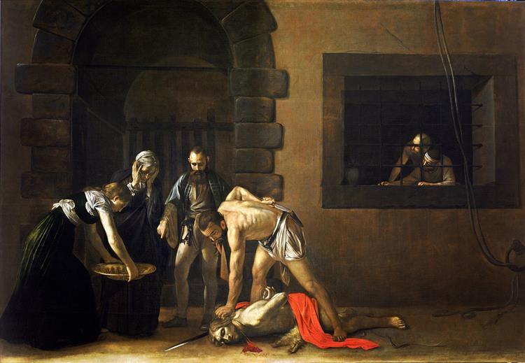Beheading of Saint John the Baptist, 1608 - Caravaggio