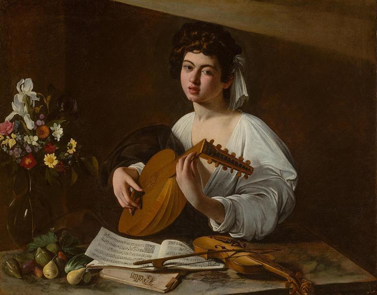 The Lute Player, c.1596 - Caravaggio