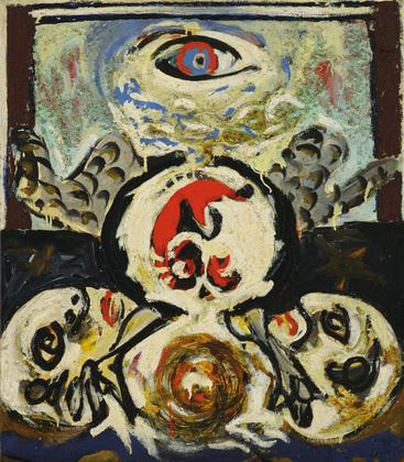 Bird, 1941 - Jackson Pollock