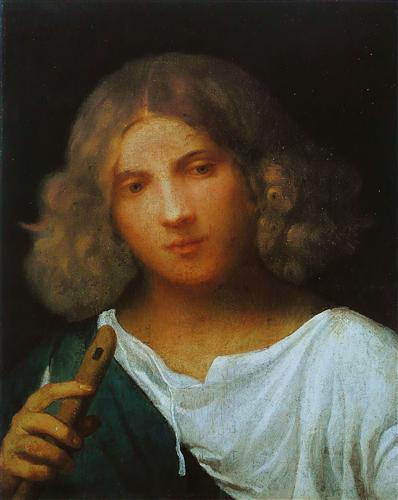 Boy with flute - Giorgione