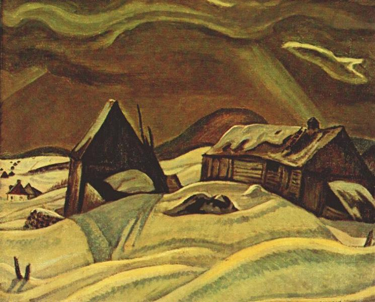 Grey Day, Laurentians, 1928 - A.Y. Jackson