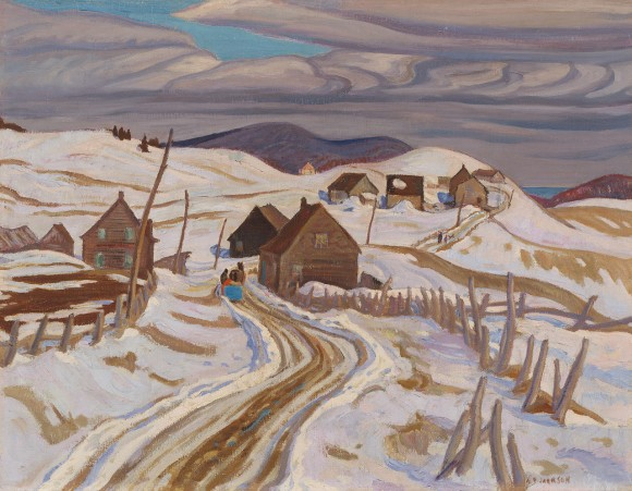 The Road to St. Fidele, 1930 - A.Y. Jackson