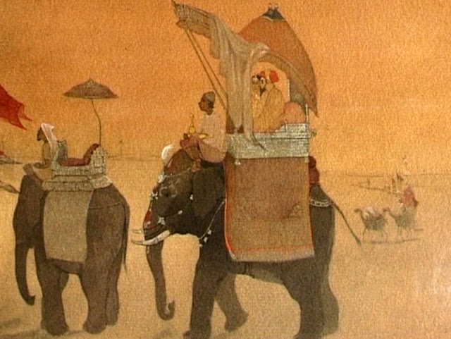 Emperor's March to Kashmir - Abanindranath Tagore