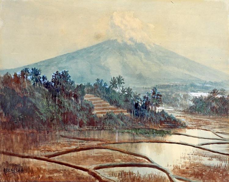 Landscape of Paddy Field - Abdullah Suriosubroto