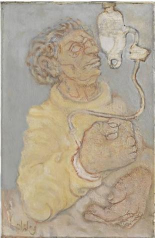 Drawing Pain, 1968 - Abidin Dino