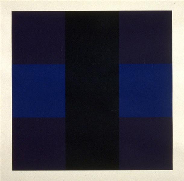 Untitled #6, 1966 - Ad Reinhardt