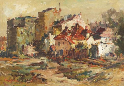 Houses in Huși - Adam Baltatu