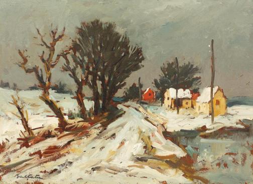 Winter Landscape - Adam Baltatu