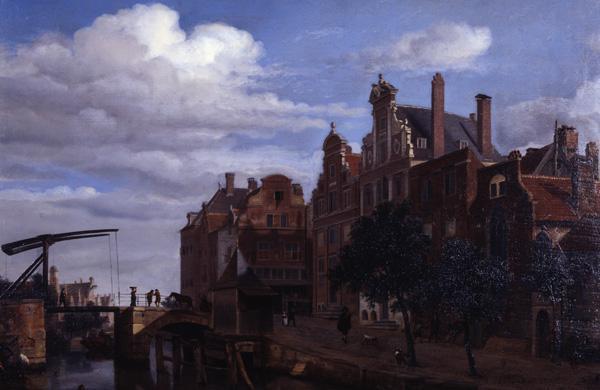 View in Amsterdam, c.1665 - c.1672 - Adriaen van de Velde