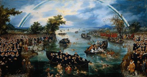 Fishing for Souls - Adriaen van de Venne