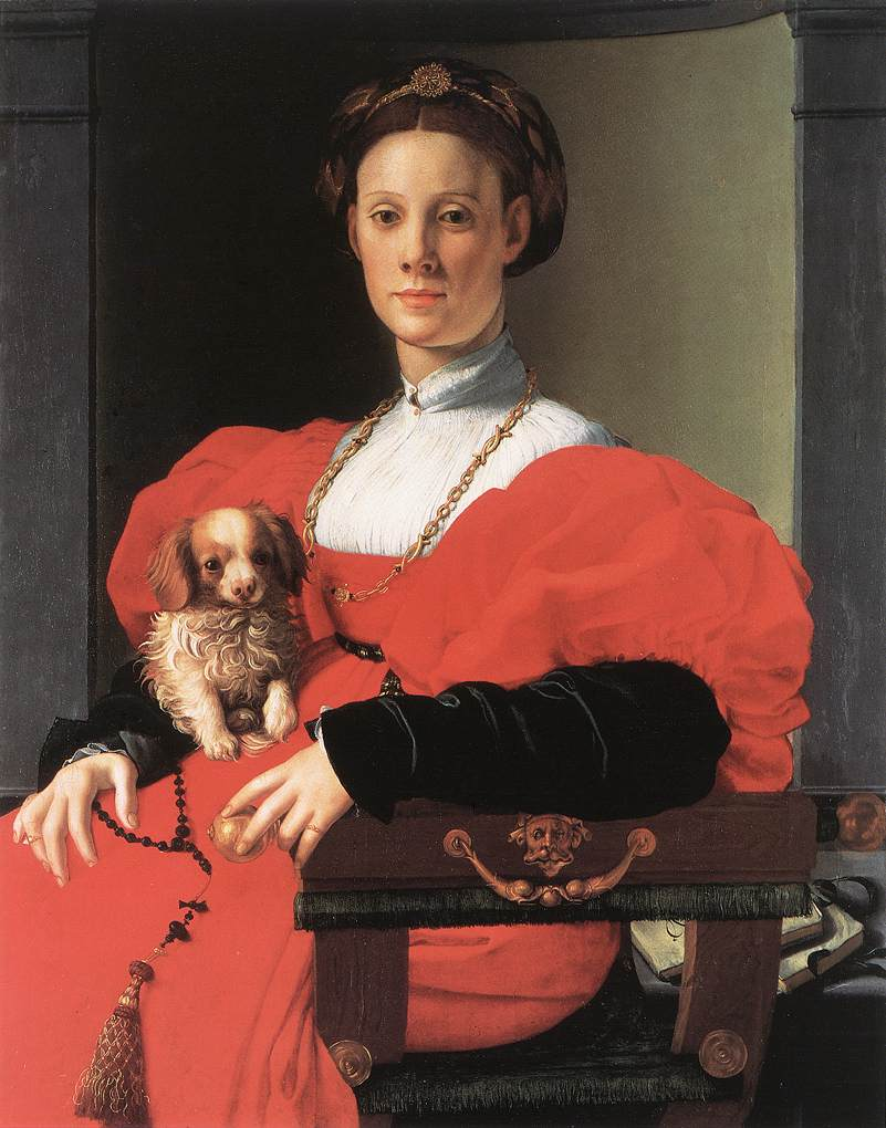 Portrait of a Lady with a Puppy, 1534