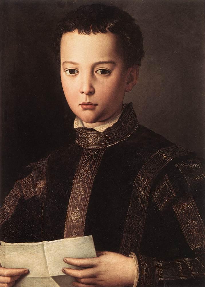 Portrait of Francesco I de' Medici, 1551