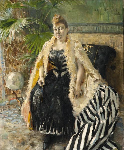 Parisienne, 1888 - Akseli Gallen-Kallela