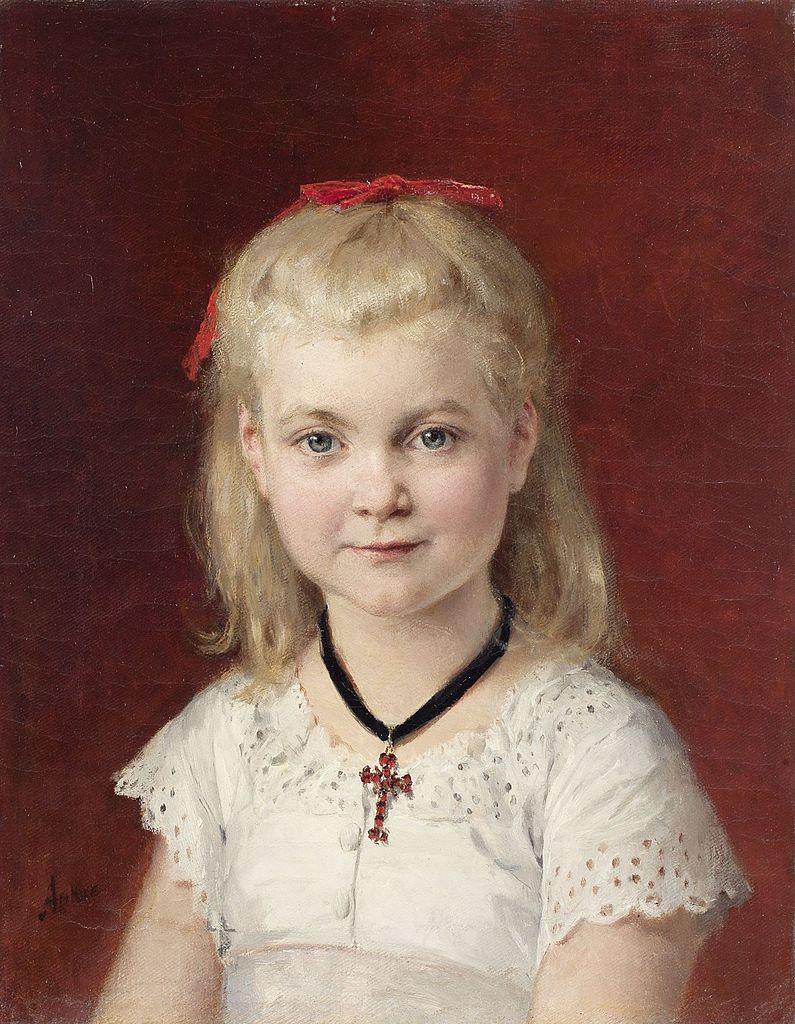 Bildnis Emilie Weiss, 1874