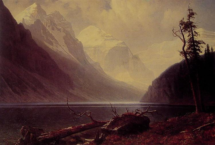 Lake Louise, c.1889 - c.1892 - Albert Bierstadt