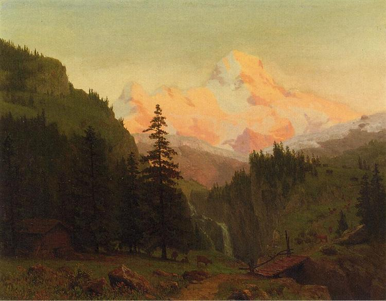 Landscape - Albert Bierstadt
