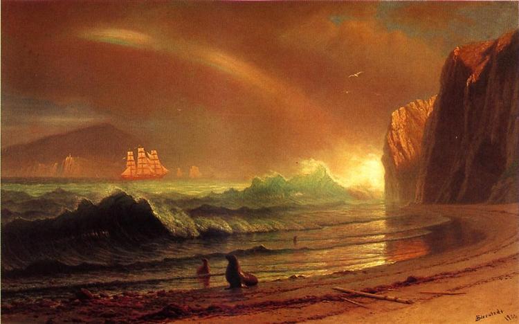 The Golden Gate, 1900 - Albert Bierstadt