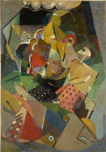 Acrobats, 1916 - Альбер Глез