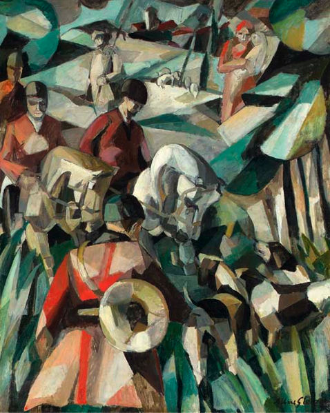 The Hunt, 1911 - Albert Gleizes