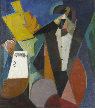 Portrait of Igor Stravinsky, 1914 - Альбер Глез