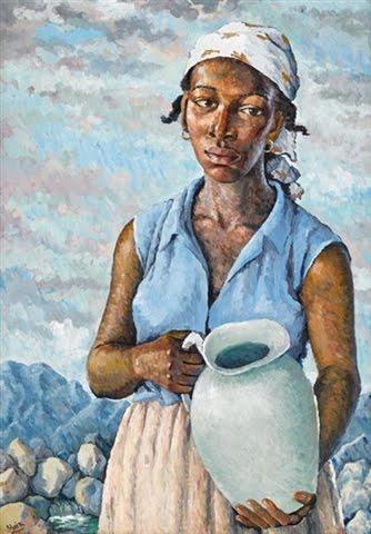 The Water Carrier - Albert Huie