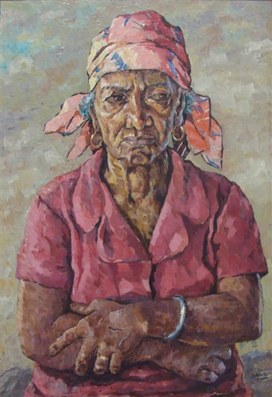 Untitled (Portrait) - Albert Huie