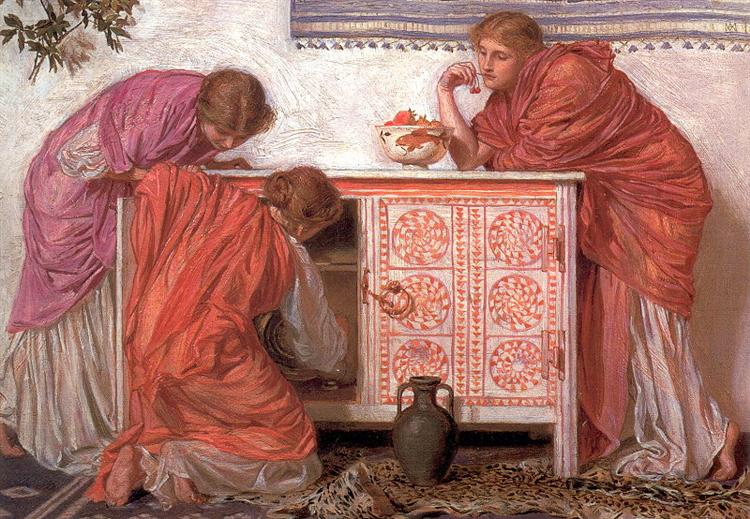 Pomegranates, 1866 - Альберт Джозеф Мор