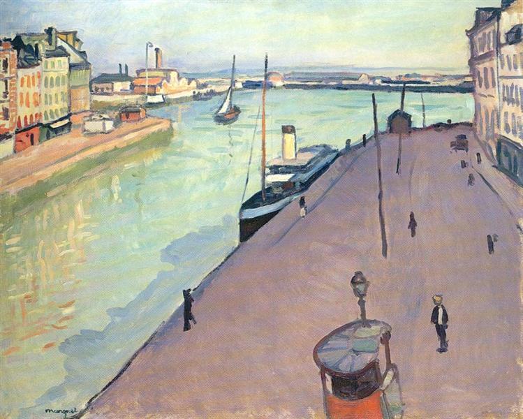 Le Havre, 1911 - Альбер Марке