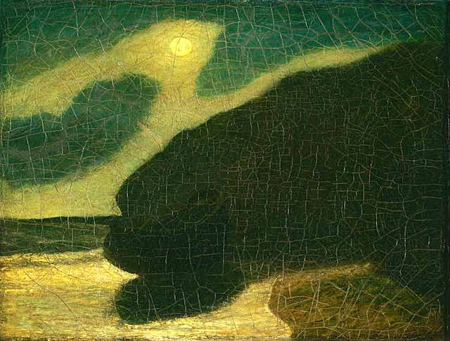 Moonlit Cove - Albert Pinkham Ryder