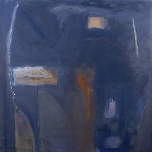 Blau antic, 1990 - Albert Rafols-Casamada