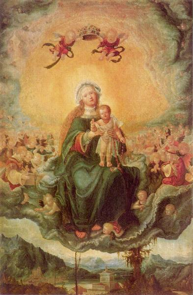Maryin Glory, 1522 - 1526 - Albrecht Altdorfer