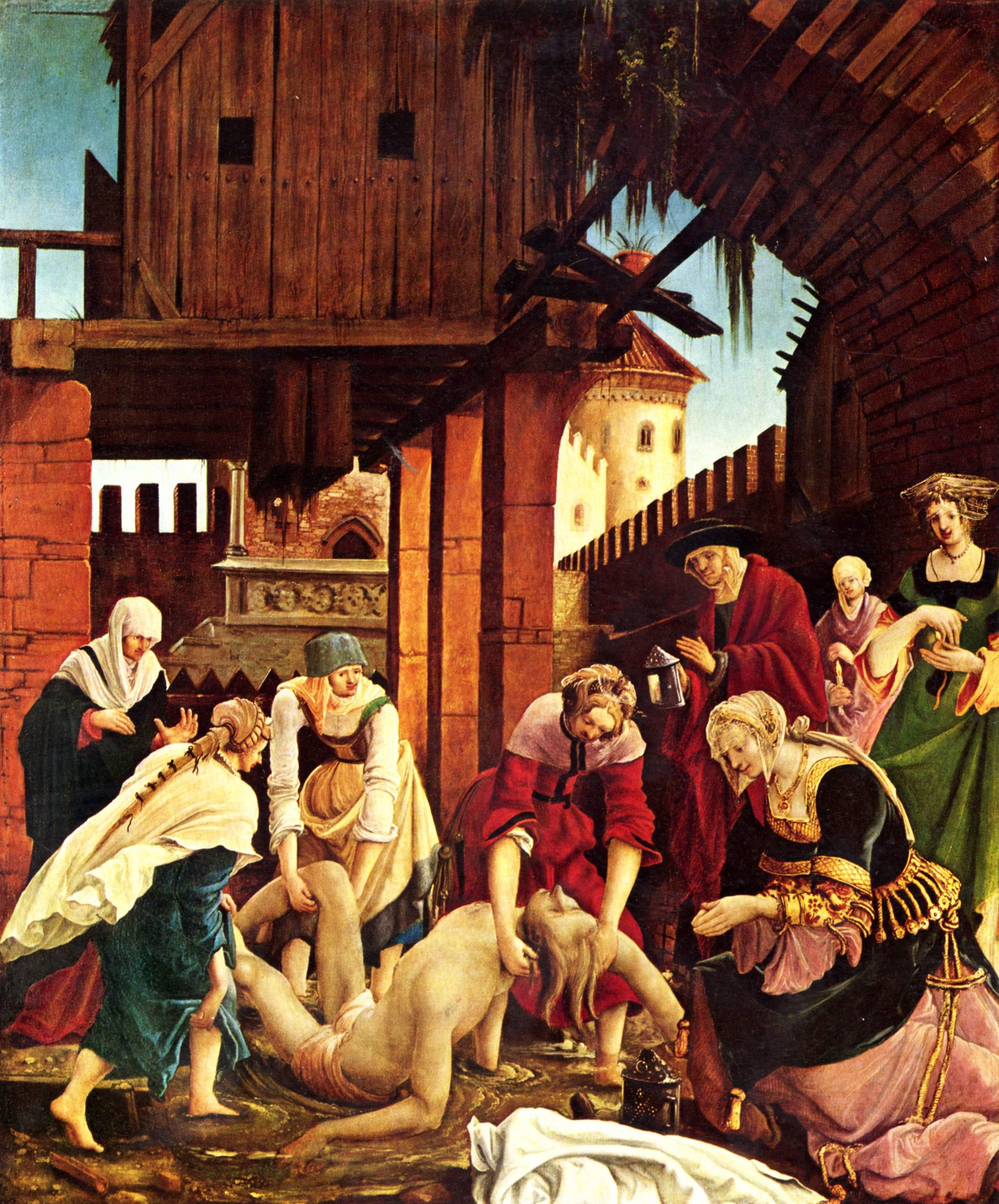 Recover the body of St. Sebastian, 1509-1516