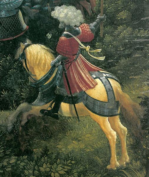 The battle of Issus(fragment), 1529 - Albrecht Altdorfer