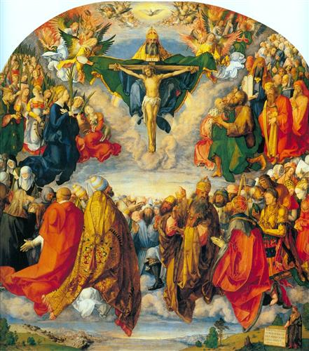 All Saints picture - Albrecht Durer