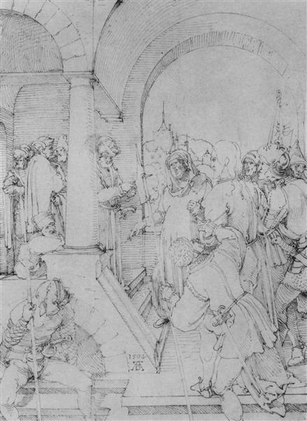 Christ before Pilate - Albrecht Durer