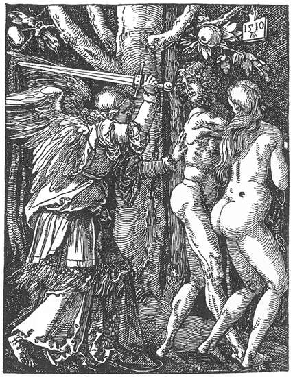 Expulsion from the Paradise, 1510 - Albrecht Durer