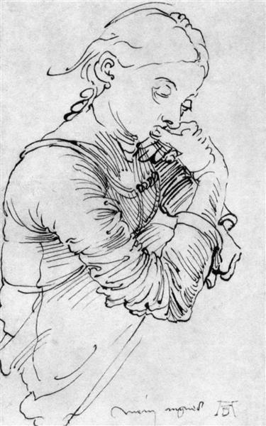 My Agnes, 1494 - Albrecht Durer