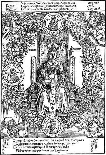 Philosophia (personification of philosophy) - Albrecht Durer