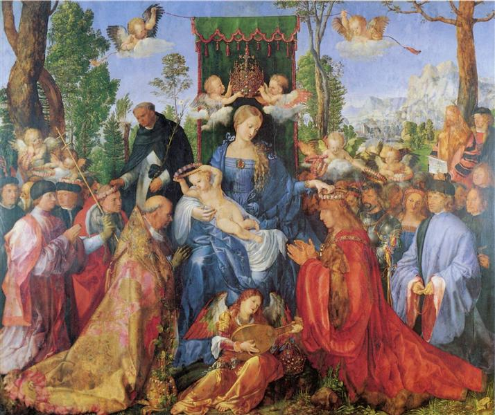 Feast of the Rosary, 1506 - Albrecht Durer