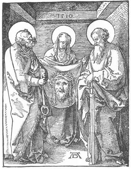 The Sudarium of St Veronica, 1510 - Albrecht Durer