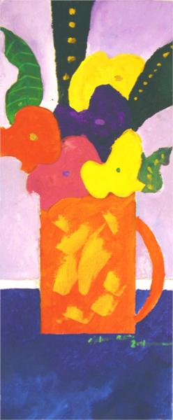 Jar With Flowers, 2001 - Aldemir Martins
