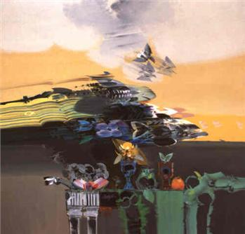 La Ola, 1987 - Alejandro Obregón