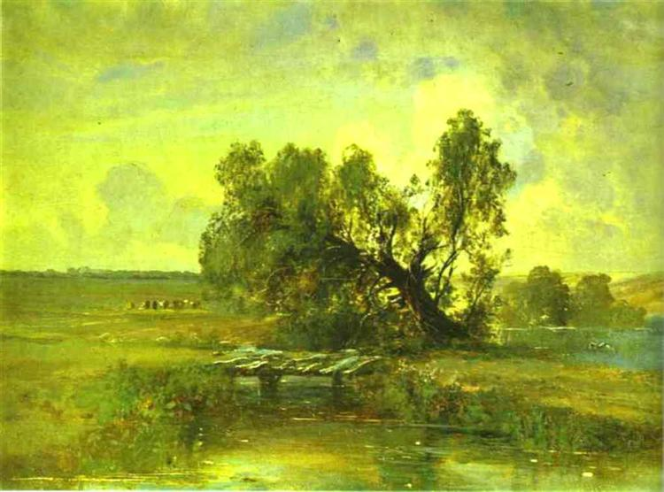 After a Thunderstorm, c.1875 - Aleksey Savrasov