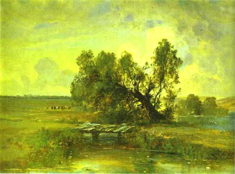 After a Thunderstorm, c.1875 - Alexei Kondratjewitsch Sawrassow