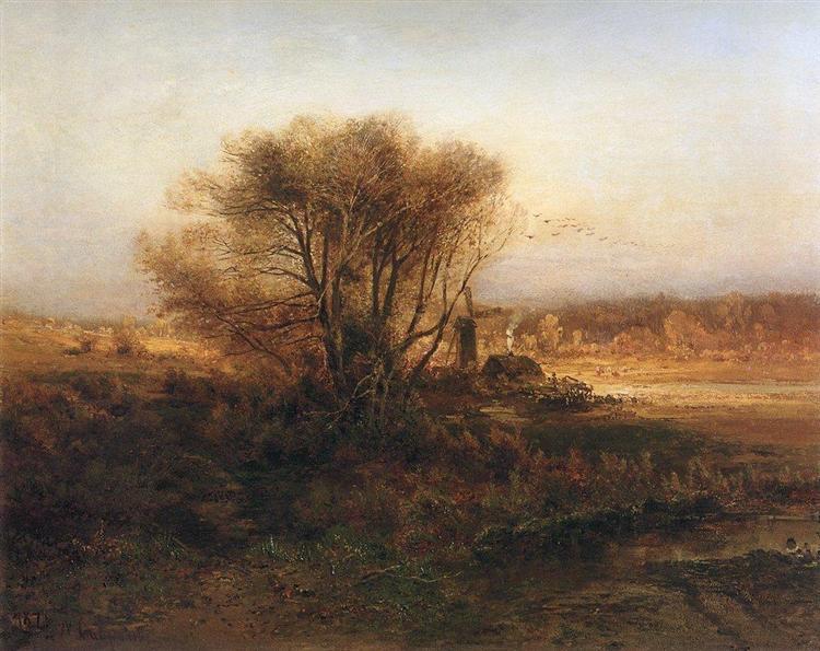 Autumn, 1871 - Aleksey Savrasov