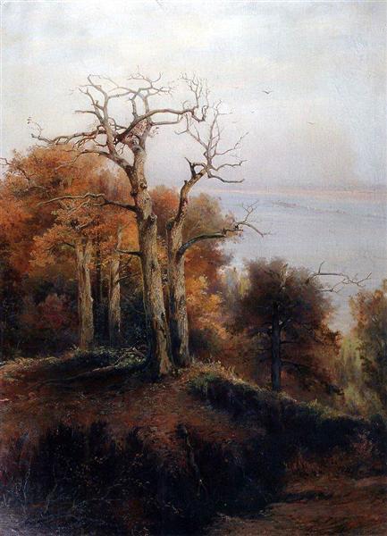 Autumnforest.Kuntsevo (Damnplace), 1872 - Aleksey Savrasov